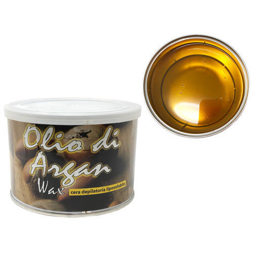 Cera epilazione Olio di Argan Wax liposolubile vaso 400 ml.