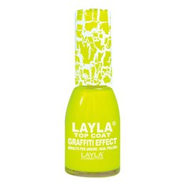 Smalto Graffiti Top Coat nr 19 Layla 10 ml