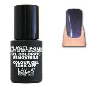 LaylaGel Polish Gel Colorato nr 21 Deep Violet 10 ml