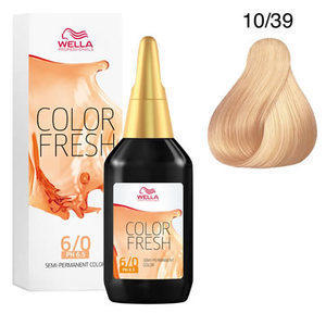 Colorazione Diretta Color Fresh acid 10/39 Wella 75 ml
