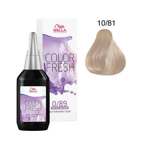 Color Fresh acid 10/81 Wella 75 ml New