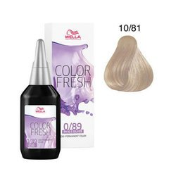 Color Fresh acid 10/81 Wella 75 ml New