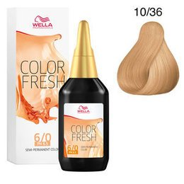 Color Fresh acid 10/36 Wella 75 ml New