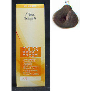Color Fresh acid 4/0 Pure Naturals Wella 75 ml