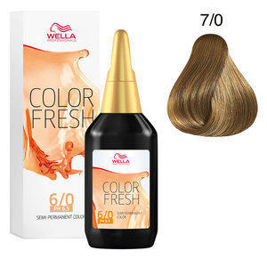 Color Fresh acid 7/0 Wella 75 ml Nuova Linea