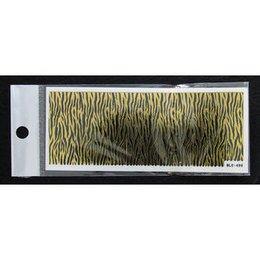 3D Nail Sticker striscia cod. BLE-499