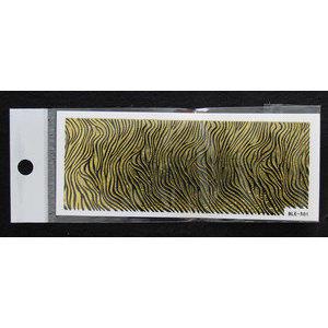 3D Nail Sticker striscia cod. BLE-501