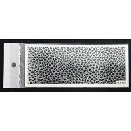3D Nail Sticker striscia cod. BLE-503