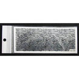 3D Nail Sticker striscia cod. BLE-504