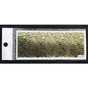 3D Nail Sticker striscia cod. BLE-495