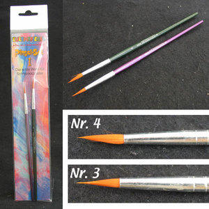 Set Profi Pinsel nr 1 Pennelli per Aqua Color 2 pz Eulenspiegel