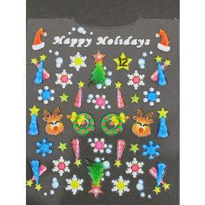 Timi nails Decoro 3D Natale 12