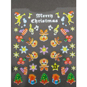 Decori 3D Natale Timi Nails cod. 13 Merry Christmas