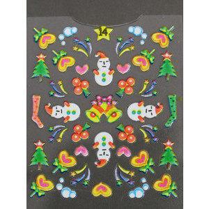 Decori 3D Natale Timi Nails cod. 14 Merry Christmas