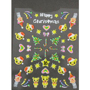 Timi nails Decoro 3D Natale 16