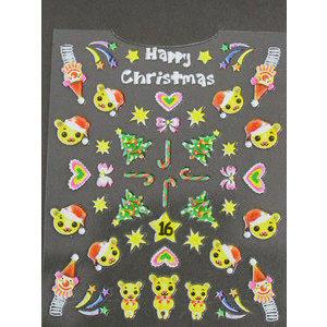 Decori 3D Natale Timi Nails cod. 16 Merry Christmas