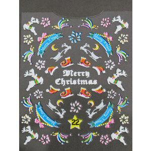 Decori 3D Natale Timi Nails cod. 22 Merry Christmas