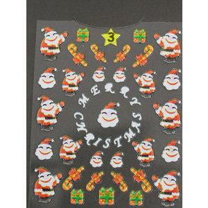 Decori 3D Natale Timi Nails cod. 3 Merry Christmas