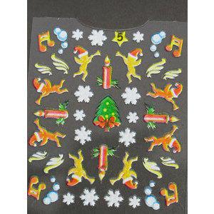 Timi nails Decoro 3D Natale 5