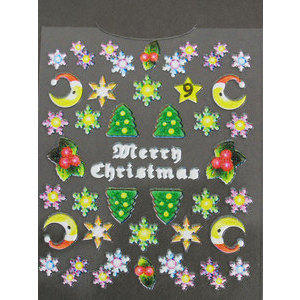 Decori 3D Natale Timi Nails cod. 9 Merry Christmas