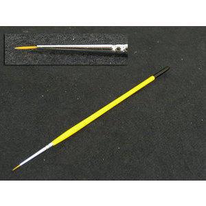 Pennello per Nail art 306 manico giallo