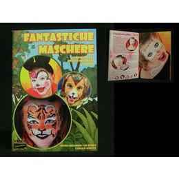 Libretto Fantastiche Maschere Animali Eulenspiegel Italiano