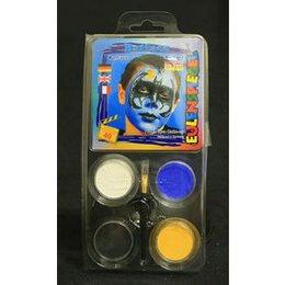 Set Profi Aqua Batface 4 Colori+Pennello Eulenspiegel
