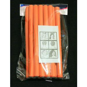 Bigodino Superflex Arancione lungo diam. 17 mm conf. 12 pz.