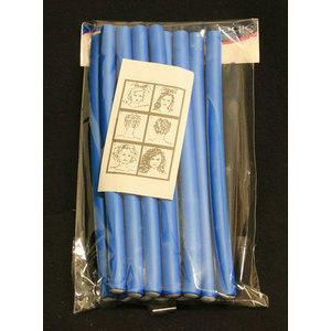 Bigodino Super Flex Lungo Blu Sinelco 12 pz.