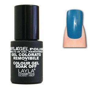 LaylaGel Polish Gel Colorato nr 37 Blue Lagoon 10 ml