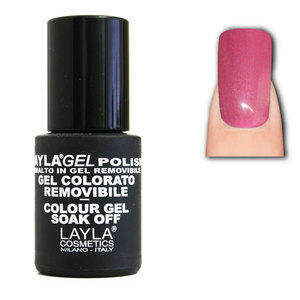 LaylaGel Polish Gel Colorato nr 40 My Best Pink 10 ml