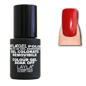 LaylaGel Polish Gel Colorato nr 41 Fuego 10 ml