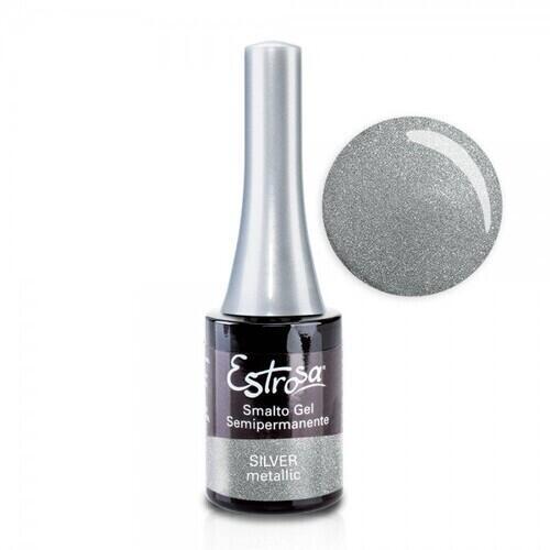 Smalto Gel 7063 Silver Metallic Estrosa 14 ml