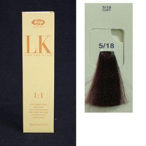 LK Creamcolor  5/18 100 ml Lisap