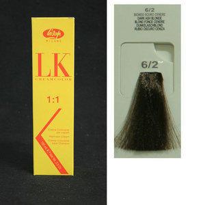 Tintura per Capelli LK Creamcolor OPC 6/2 Lisap 100 ml