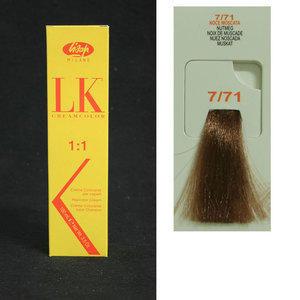 Tintura per Capelli LKCreamcolor 7/71 Lisap 100 ml