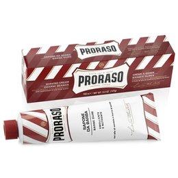 Proraso Sapone Barba Sandalo e Karite' tubo rosso Barbe Dure 150 ml