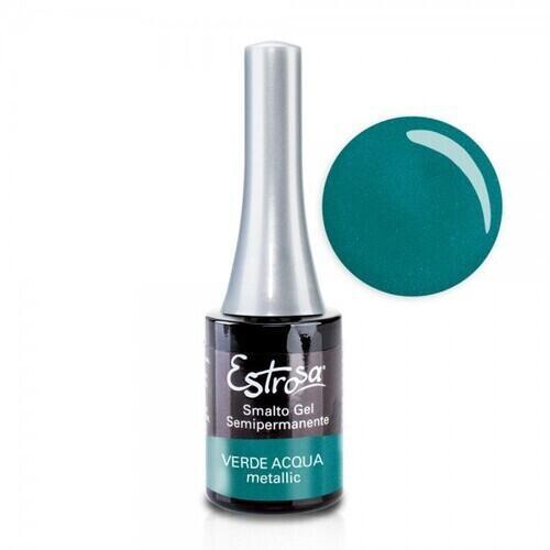 Smalto Gel 7077 Verde Acqua Metallic Estrosa 14 ml
