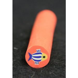 Decoro per unghie bastoncino Gimo #3 Pesce Fondo Arancione