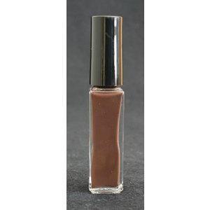 Smalto decoro unghie USA base acqua marrone scuro pennello sottile 05046