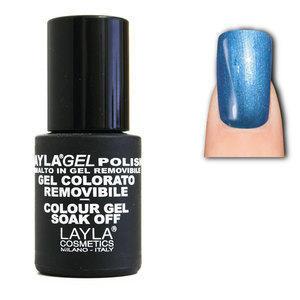 LaylaGel Polish Gel Colorato nr 53 Blue Sea 10 ml