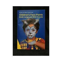 Libretto Maschere Children's Face Paint-Inglese-