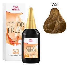 Color Fresh 7/3  Wella 75 ml New