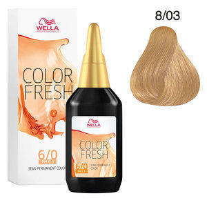 Color Fresh acid 8/03 Biondo Chiaro Naturale Dorato Wella 75 ml