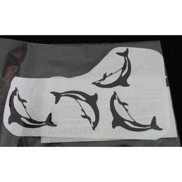 Calcomania per Tatttoo Delphin Eulenspiegel