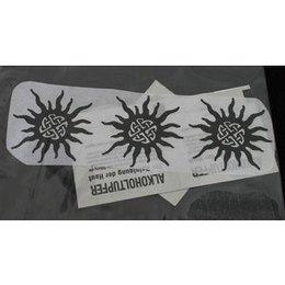 Calcomania per Tattoo Etno Sonne Eulenspiegel