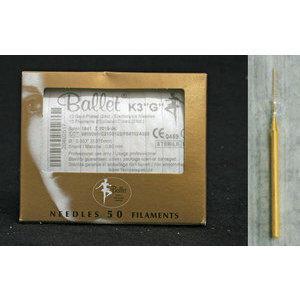 Ballet K3 G aghi monouso oro 50 pz