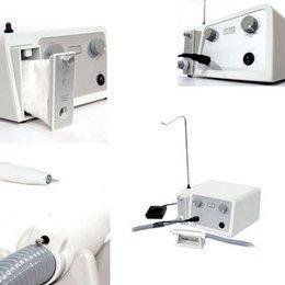 Fresa con aspiratore Made in Italy VRX P. con manipolo in plastica