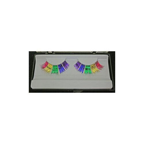 Ciglia Frangia Fluo Multicolor+Colla Eulenspiegel