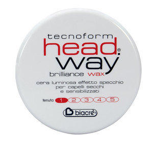 Cera per Capelli Brilliance Wax Head Way Biacrè 100 ml.